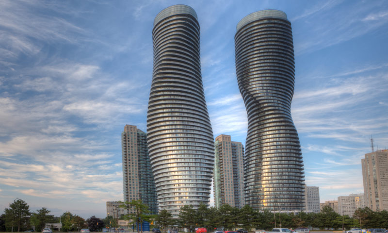 Buildings in Mississauga